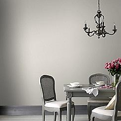 Graham & Brown - Plain Grey Iris Wallpaper