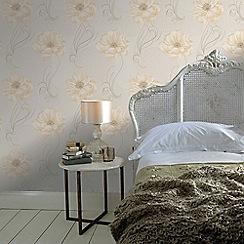 Graham & Brown - Cream Sofia Wallpaper