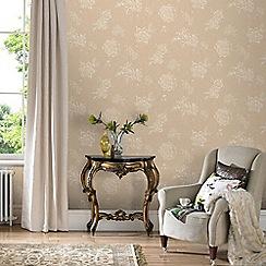 Graham & Brown - Cream & Beige Boutique Wallpaper