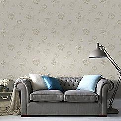 Graham & Brown - Cream Boutique Ivory Wallpaper