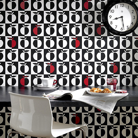 Contour - Black Orchard Wallpaper
