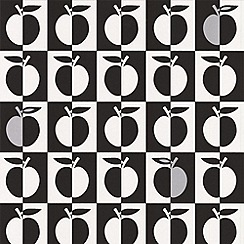 Contour - Black Orchard Wallpaper