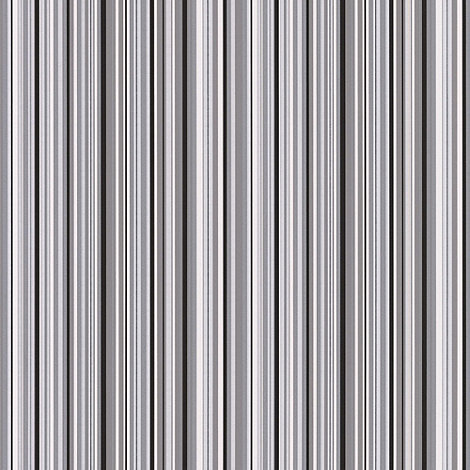 Contour - Black Barcode Linear Wallpaper