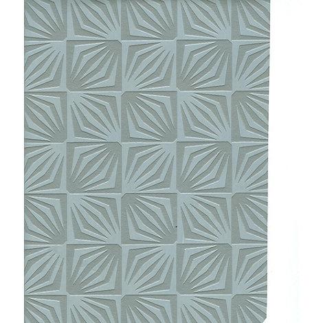 Contour - Silver Deco Wallpaper
