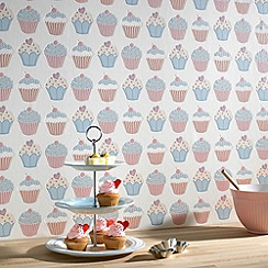 Contour - Pastels Cupcake Wallpaper