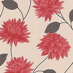 Superfresco Easy - Red Romance Wallpaper