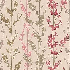 Superfresco Easy - Pink Berries Wallpaper