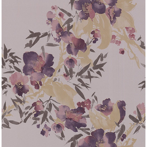 Monsoon Home - Plum Meadow wallpaper