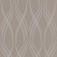 Superfresco Easy - Taupe Neo Wallpaper