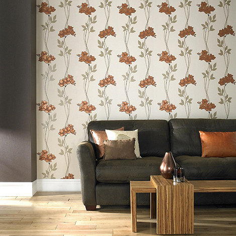 Premier - Copper Serene Wallpaper