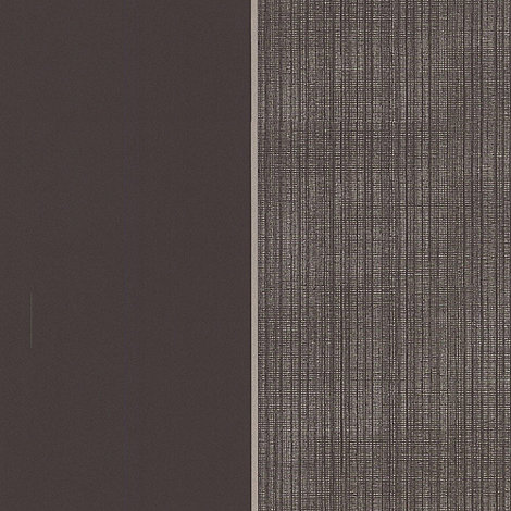 Kelly Hoppen - Chocolate/gold Bold stripe wallpaper