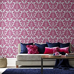 Superfresco Easy - Hot Pink Majestic Wallpaper