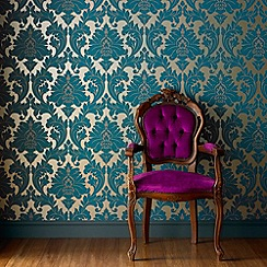 Superfresco Easy - Teal Majestic wallpaper