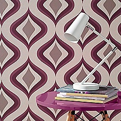 Superfresco Easy - Plum Tirppy Wallpaper