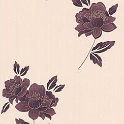 Premier - Plum Lulu Premier Wallpaper