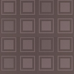 Kelly Hoppen - Taupe Cube wallpaper