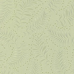 Premier - Spring Green Fern wallpaper