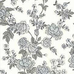 Superfresco Easy - White Kensington Wallpaper