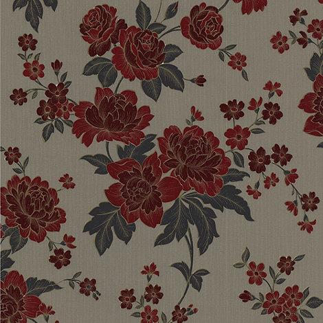 Superfresco Easy - Red Kensington Wallpaper