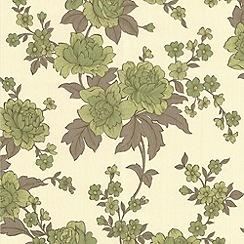 Superfresco Easy - Green Kensington Wallpaper