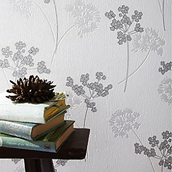 Superfresco Easy - Silver Milly Wallpaper