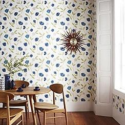 Superfresco Easy - Blue Capri Wallpaper