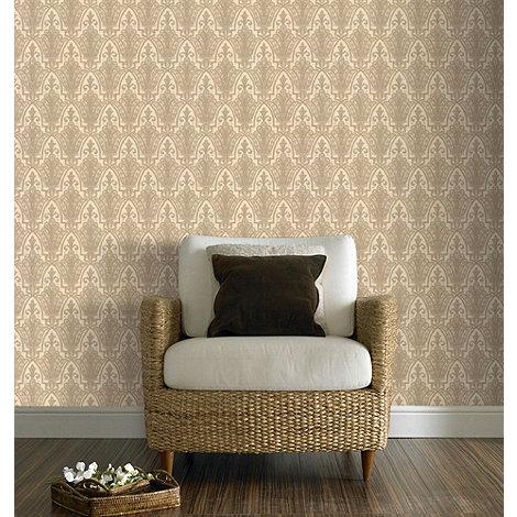 Graham & Brown - Peach Ritzy Wallpaper