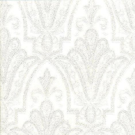 Premier - White Ritzy Wallpaper