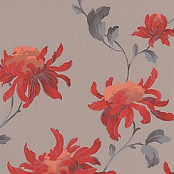 Julien Macdonald - Red Fabulous Wallpaper