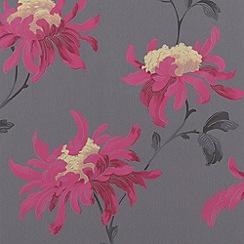 Julien Macdonald - Grey Fabulous Wallpaper