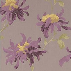 Julien Macdonald - Taupe Fabulous Wallpaper