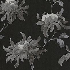 Julien Macdonald Home - Black Fabulous Wallpaper