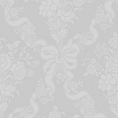 Julien Macdonald Home - White Glimmerous Wallpaper