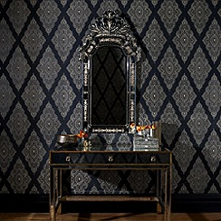 Julien Macdonald Home - Black Jewel Wallpaper