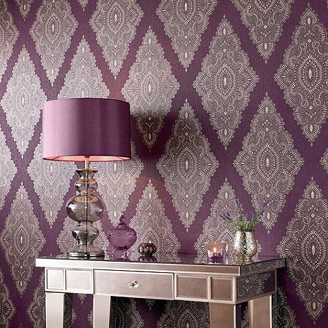 Julien Macdonald - Damson Jewel Wallpaper