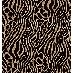 Julien Macdonald Home - Gold Easy Tiger Wallpaper
