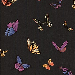 Julien Macdonald Home - Black Flutterby Wallpaper