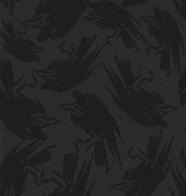 Barbara Hulanicki Raven Diablo Flock BH Wallpaper - . -