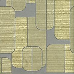 Superfresco Easy - Olive Ponder Wallpaper