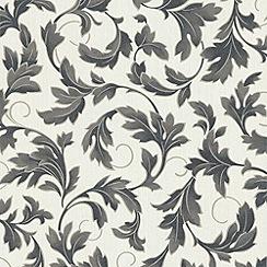Premier - Black/White Charmed Wallpaper