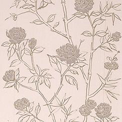 Graham & Brown - Cream Hua Wallpaper