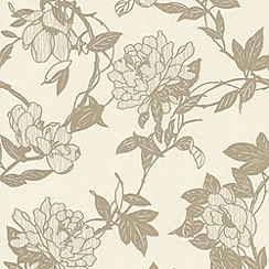 Graham & Brown - Cream Jiao Wallpaper