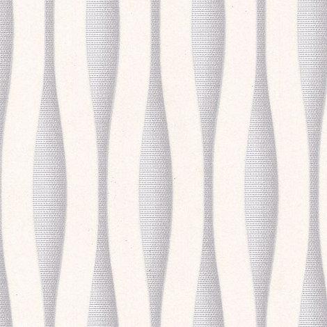 Superfresco Easy - White/Silver Lucid Wallpaper