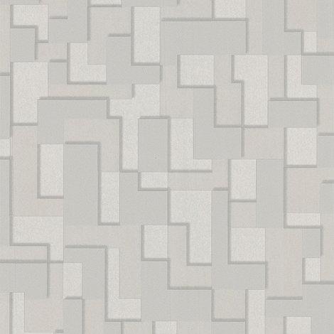Superfresco Easy - Putty Checker Wallpaper