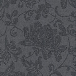 Superfresco Easy - Charcoal Jacquard Wallpaper