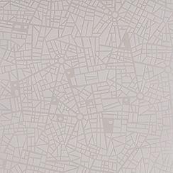 Superfresco - White maps wallpaper