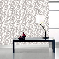 Graham & Brown - Silver capulet wallpaper