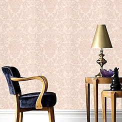Graham & Brown - Gold montague wallpaper