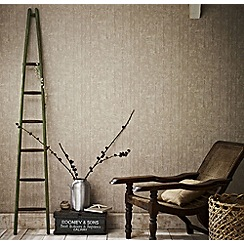 Superfresco Easy - Taupe driftwood wallpaper
