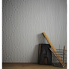 Superfresco Easy - Dove grey strata wallpaper